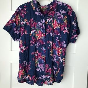 Tommy Bahama 🌺 XL button down short sleeve top